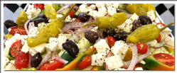 Palace Grill Catering Shop delicious lunch salads available